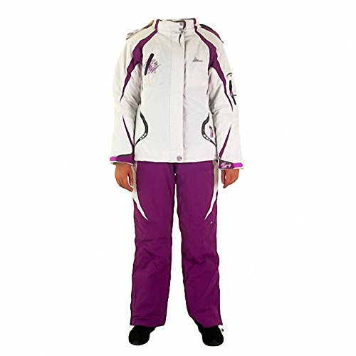 Peak Mountain - Ensemble de ski AGYSS/DS-Blanc/violet-T3