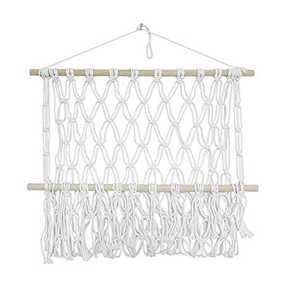 Resistente y duradero: estas piezas de encaje para colgar en la pared están hechas de cuerda de algodón, que son seguras y duraderas. Todas las piezas de encaje para colgar en la pared son resistentes y duraderas y se pueden montar en la pared. Mano ...