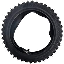 Qind 2.50-10 Tire for The Razor SX500 McGrath Dirt Rocket Electric Dirt Bike