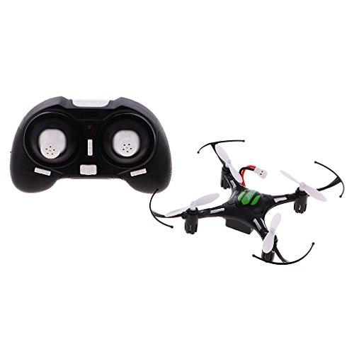 JJRC H8 Mini Drone Senza Testa Droni Modo 6 Axis 2,4 GHz a 4 Canali con Batteria 150mAh - Nero