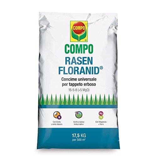 COMPO RASEN FLORANID UNIVERSALE CONCIME GRANULARE PRATO GIARDINO KG.17,5 FERTILIZZANTE