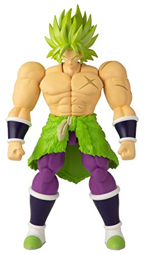 BANDAI Dragon Ball Action Figure Gigante Super Limit Breaker da 30 cm-Broly del film-36235, 36237