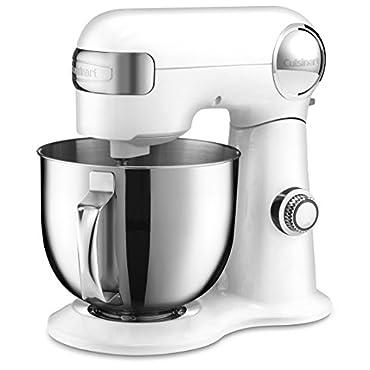 Cuisinart SM-50 5.5 Quart Stand Mixer, White