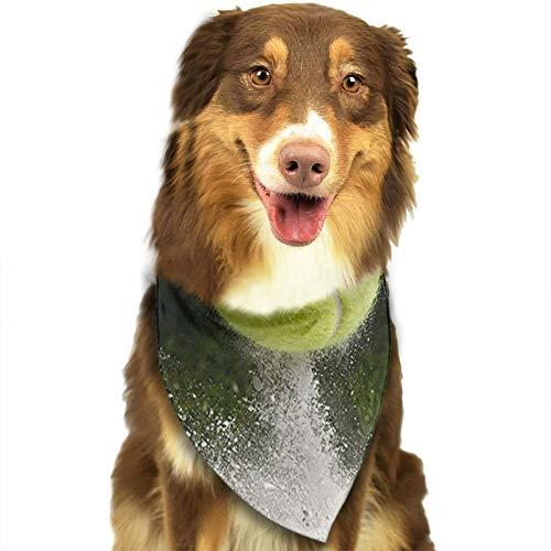 Hunde Bandana Tennisplatz Wimbledon In,Kragen Schal Lätzchen, Dreieckstuch Halsbänder Haustier für Kleine, Mittelgroße Große Hunde Katzen Custume Weihnachts Geschenk