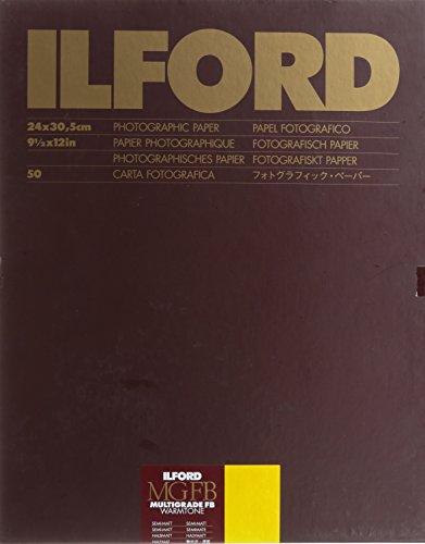 Ilford 1884382 Papier, 24 x 30.5 cm, 50 Blätter