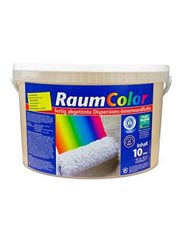 Raumcolor getönt Latte Macchiato 10 Liter ca. 60 m² Innenfarbe Wandfarbe Wilckens Farbe Trendfarbe hochdeckend