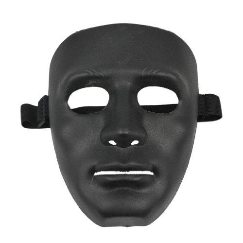TOOGOO(R) Mascara negra de Halloween, Material ABS