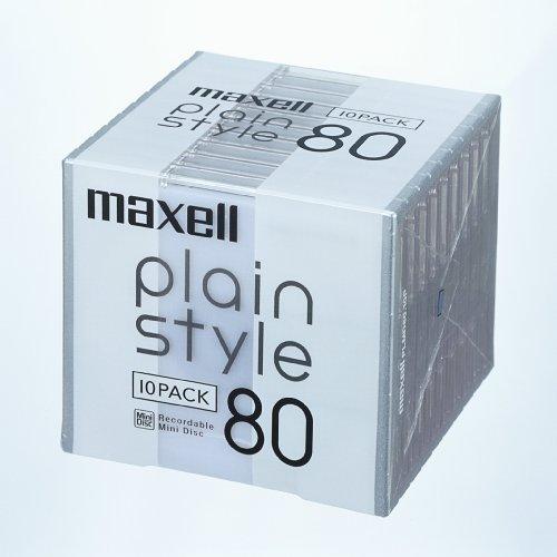 マクセル plain style 80分 PLMD80.10P
