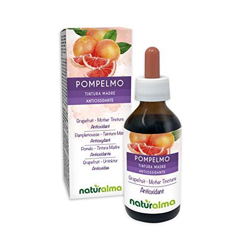 Pompelmo (Citrus paradisi) semi Tintura Madre analcoolica NATURALMA | Arricchito con Vitamina C | Estratto liquido gocce 100 ml | Integratore alimentare | Vegano