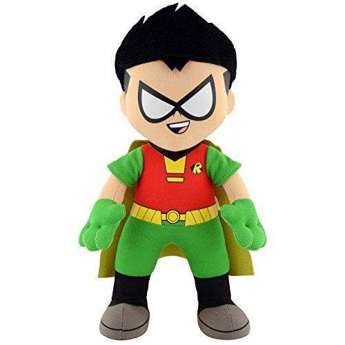 Bleacher Creatures DC Teen Titans Go Robin 10 Plush Figure by Bleacher Creatures