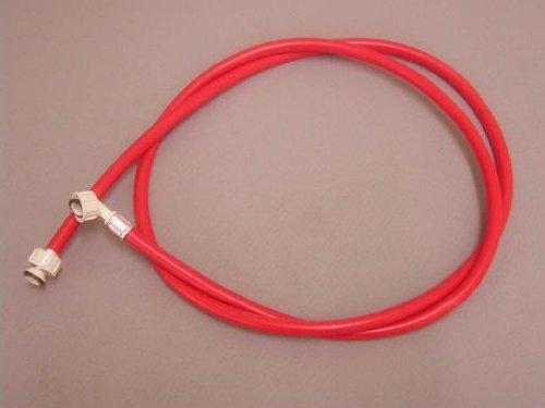 Remplir/entrée tuyau : 2,5 m Rouge