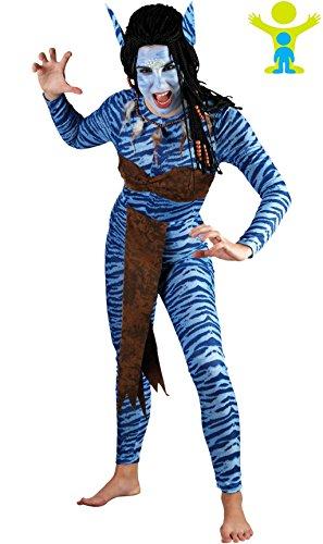 Fyasa 706055-t04selva Mujer Warrior disfraz, tamaño grande
