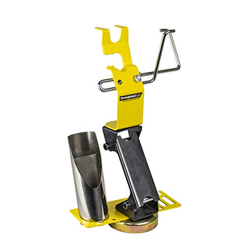 Strong Hand Tools, Ready Rest, Magnetic Tig Torch Holder with Cable Hanger (Adjustable Height + Accessory Plate)