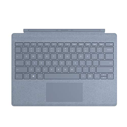 Microsoft Surface Type Cover, for Surface Pro Alcantara, Ice Blue