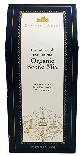 Garveys Downton Abbey best Of British Traditional Organic Scone Mix, 9 Ounce