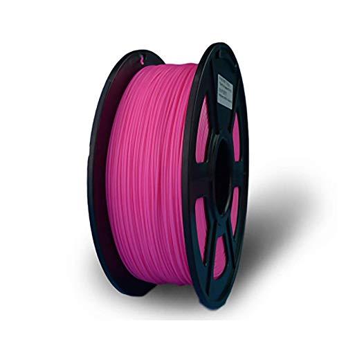 PLA Filament 1.75mm 3D Printing Filament PLA For 3D Printer, 1kg 1 Spool, Fluorescent Pink
