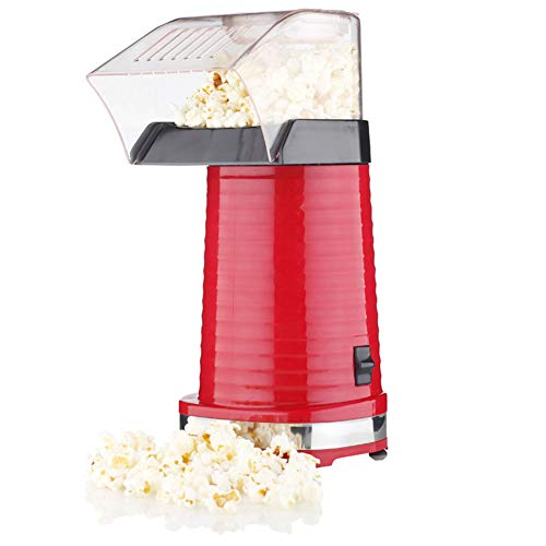 Amazing Deal Shentesel Mini Popcorn Maker Popper Home DIY Corn Popping Electric Machine 1200W - Red