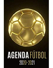 agenda futbol 2020-2021: agenda escolar futbol 2020-2021, agenda 2020 2021 semana vista, Septiembre 2020 a Sep 2021, calendario, planificador semanal a5, Colegio, secundaria, estudiante