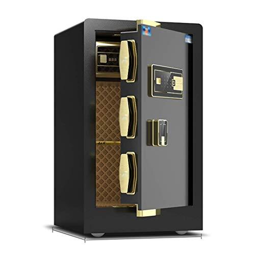 XiYou Caja Fuerte de Seguridad, con Cerradura electrónica de combinación para hogares privados con Caja Fuerte Mediana para hogares privados Caja Fuerte de Oficina Inteligente de 60 CM