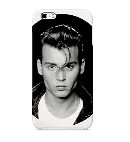 Johny Depp Face Sexy - Carcasa de plástico rígido 3D para iPhone 6, 7, 8 X Plus, Samsung Galaxy Huawei, funda de teléfono móvil