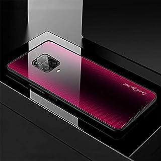 جراب من متجر SIZE - جرابات مناسبة لهاتف Xiaomi Redmi Note 9 Pro جراب من الزجاج المقوى متدرج لهاتف Redmi Note 9S 8 T Pro Ca...