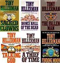 Pick 6 Tony Hillerman Paperbacks (A Thief of Time, Talking God, Dance Hall of the Dead, The Fallen Man, Sacred Clowns & Finding Moon)