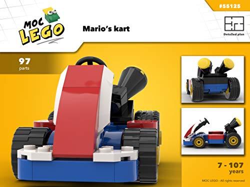 Mario's Kart (Instruction Only): MOC LEGO (English Edition)