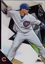 2015 Topps Finest Baseball Refractor #44 Javier Baez Rookie Card – Near Mint to Mint
