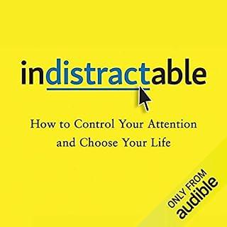 Page de couverture de Indistractable