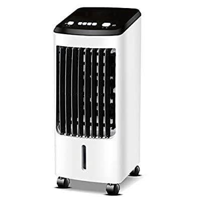 Evaporative Coolers Silent Portable Air Conditioner Home Personal Air Conditoner Small Personal Air Cooler Air Conditioners TIANQIZ (Color : White-b)