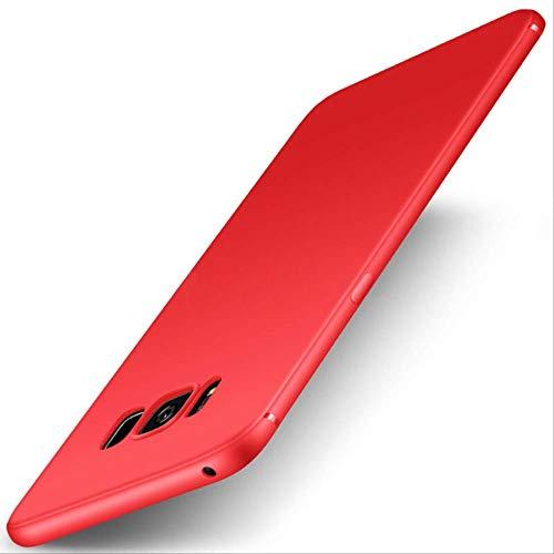 Sjkjhandyhülle Ultradünne Handy Case Für Samsung Galaxy S6 S7 Edge S8 S9 S10 E Lite Plus S8 Plus S9 Plus Duos TPU Silikon Rückseitige Abdeckung S6 Edge Plus Rot