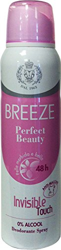 12 x Breeze Désodorisant Spray Perfect Beauty 150 ml