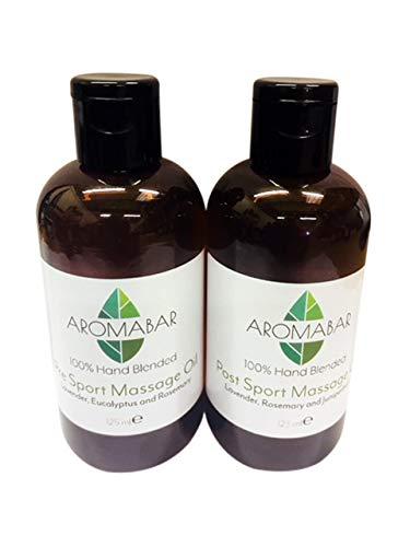Twin Pack Pre-Sport e Post-Massaggio per il massaggio sportivo