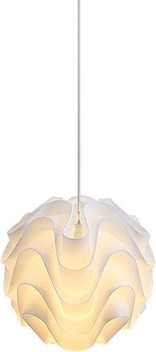 Lustres acryliques de mode, Nordic LED blanc Pine Contour éclairage décoratif multicouche lustre plafonniers lampes postmodernes café Bar Table à hommeger petite lumière pendentife (Couleur   30cm)