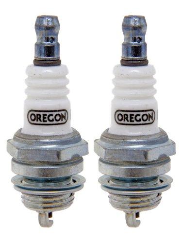 Oregon (2 Pack 77-306-1-2PK Spark Plug # Champ RCJ8, NGK BMR6A, NGK BMR4A