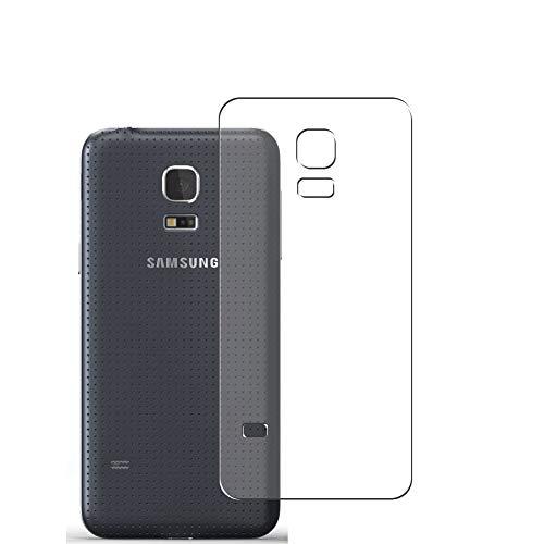 VacFun 2 Piezas Protector de pantalla Posterior, compatible con Samsung Galaxy S5 mini / G870a G870W SM-G800, Película de Trasera de TPU