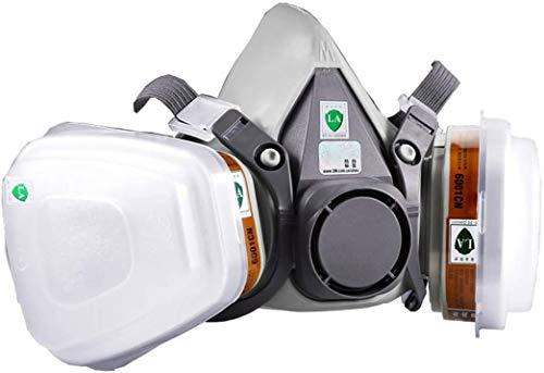 YingDeLi 6200a Demi-Cartouche de Protection respiratoire Filtre Anti-Encre Filtre à gaz poussiéreux