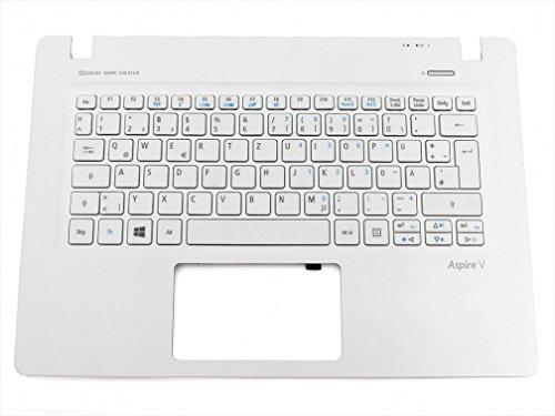 Acer Aspire V3-371 Original Tastatur inkl. Topcase DE (deutsch) weiß/weiß