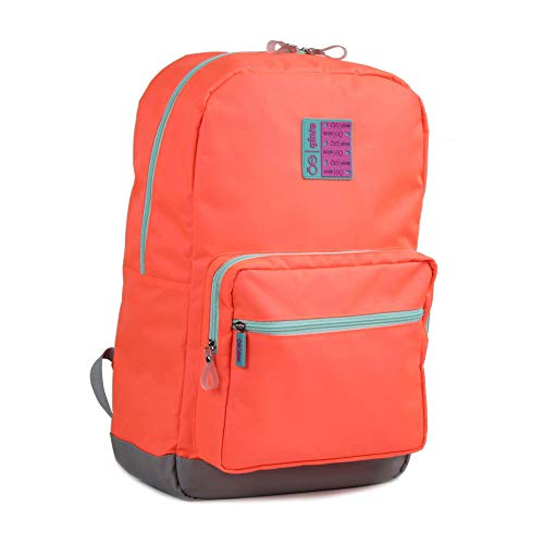 Cloe- Mochila Porta Laptop De 14' Tipo Backpack Color Naranja
