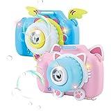WTOR 2020年最新版 カメラ型シャボン玉 2セット 電動式シャボン バブルマシーン パーティー シャボンダマシーン 子供のおもちゃ 誕生日プレゼント 子供用カメラ 外遊び プール アウトドア