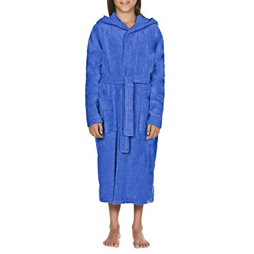 Arena jr Albornoz Junior Core Soft Robe, Juventud Unisex,