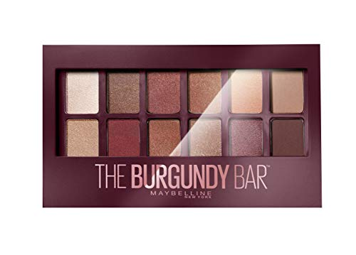 Maybelline New York Paleta de Sombras de Ojos The Burgundy Bar
