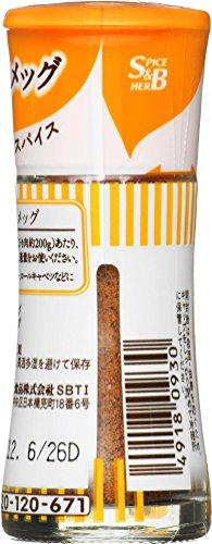 S&B スマートスパイス ナツメグ 瓶 8.3g [0930]
