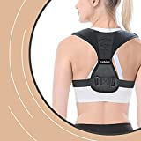 Posture Corrector for Men and Women, Adjustable Back Straightener and Providing Pain Relief from Neck, Back & Shoulder, Upper Back Brace for Clavicle Support by TruHeight (Universal Fit)