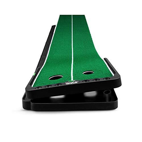 Buy JHHXW Golf Putting Mats, Adjustable Slope Golf Mat, 300 50cm Automatic Ball Return Track Golf Pr...