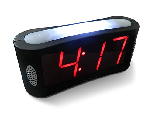 Our #3 Pick is the Travelway Home LED Digital Alarm Clock