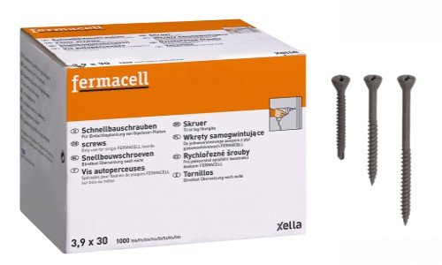 Fermacell Schnellbauschraube 3,9 x 30mm 250 Stück