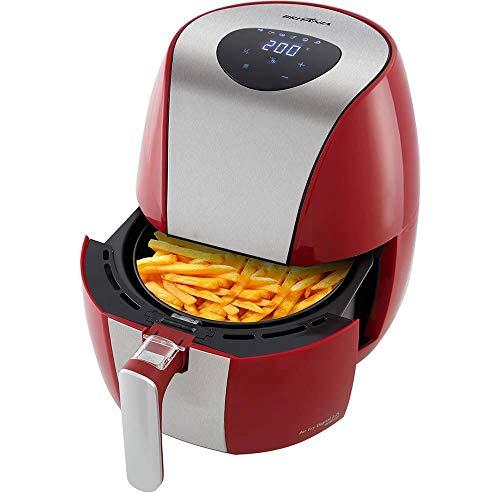 Britânia Air Fry Digital Fritadeira 3.2L, 220V 1500W, Vermelho