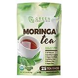 Moringa Tea - USDA Certified Organic - Vegan - 25 bags