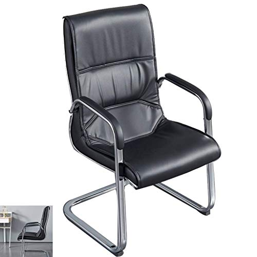 N/Z Daily Equipment Office Furniture/Arched Computer Chair/Simple Office Chair/Conference Chair/Fashion Boss Chair/Employee Office Chair Black 51X50X100Cm Black 51 * 50 * 100cm